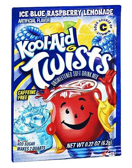Blue Kool Aid uk Kool-aid Twists Ice Blue