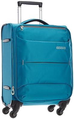 【クリックで詳細表示】[アメリカンツーリスター] AmericanTourister TROPICAL / トロピカル スピナー55cm (スーツケース・キャリーケース・トラベルバッグ・機内持込・TSAロック装備・大容量・軽量・ジッパー・保証付) R86*11001 11 (ブルー): シューズ&バッグ:通販