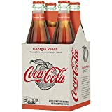 Coke Origins Coca-cola Georgia Peach Bottles, 12 Fl Oz