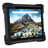 TabArmor Dual Layer Ruggedized Tablet Case Lenovo Tab 4 10 Tablets (Color: Black)