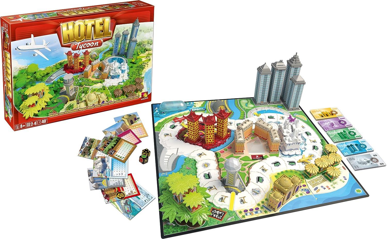 Board Game Hotel Hotel Tycoon Board Game