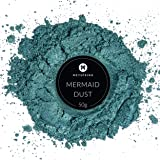 MEYSPRING Mermaid Dust Epoxy Resin Color Pigment - 50 Grams Jar Mica Powder for Epoxy and Resin Art - Lumps Free - Create Cells Without Resin Blast - Great for Art Resin, Ecopoxy, UV Resin (Color: Mermaid Dust, Tamaño: 50g)