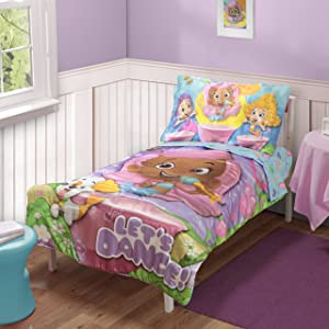 Nickelodeon Toddler Bedding Set,  Bubble Guppies