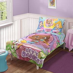 Nickelodeon Toddler Bedding Set,  Bubble Guppies