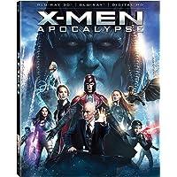 X-men Apocalypse on Blu-ray (3d)