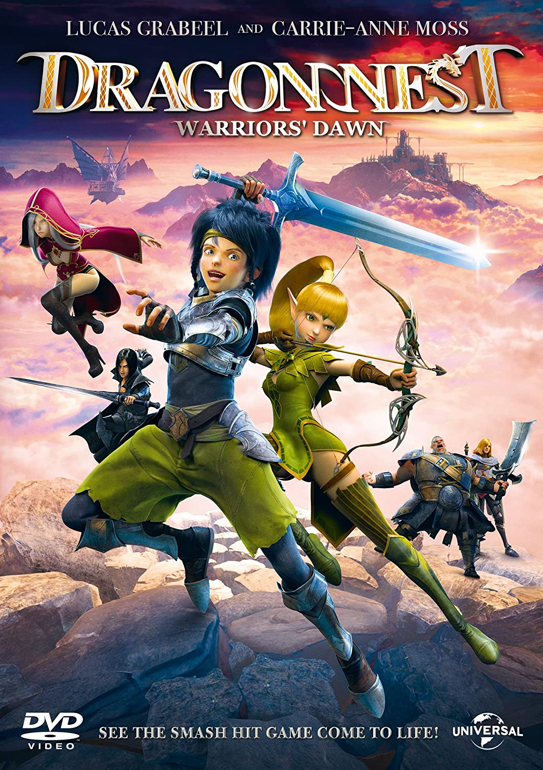 Dragon Nest: Warriors' Dawn (2014) Poster