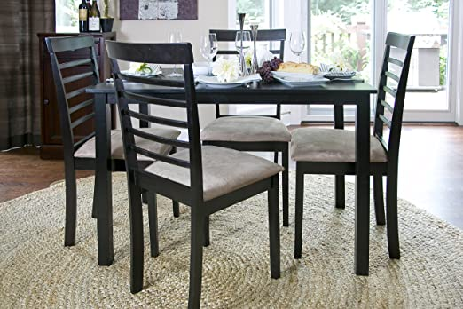 Baxton Studio 5-Piece Jet Cheer Dining Set