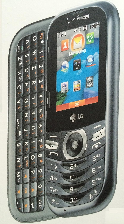 LG Cosmos 3, VN251S, Gray, Verizon Wireless slider Phone