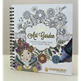 Chameleon Art Products, Coloring Book - Lori's Art Garden (Tamaño: 8-x-10-Inch)