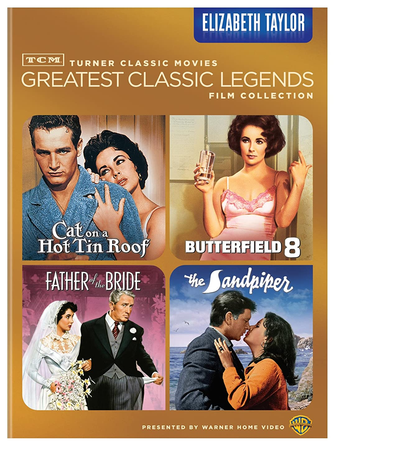 Turner Classic Movies greatest classic legends film collection. Elizabeth Taylor [videorecording]