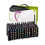 Prismacolor 1773303 Premier Double-Ended Art Markers, Fine and Brush Tip, 72-Count (Color: Assorted Colors, Tamaño: 72-Count)