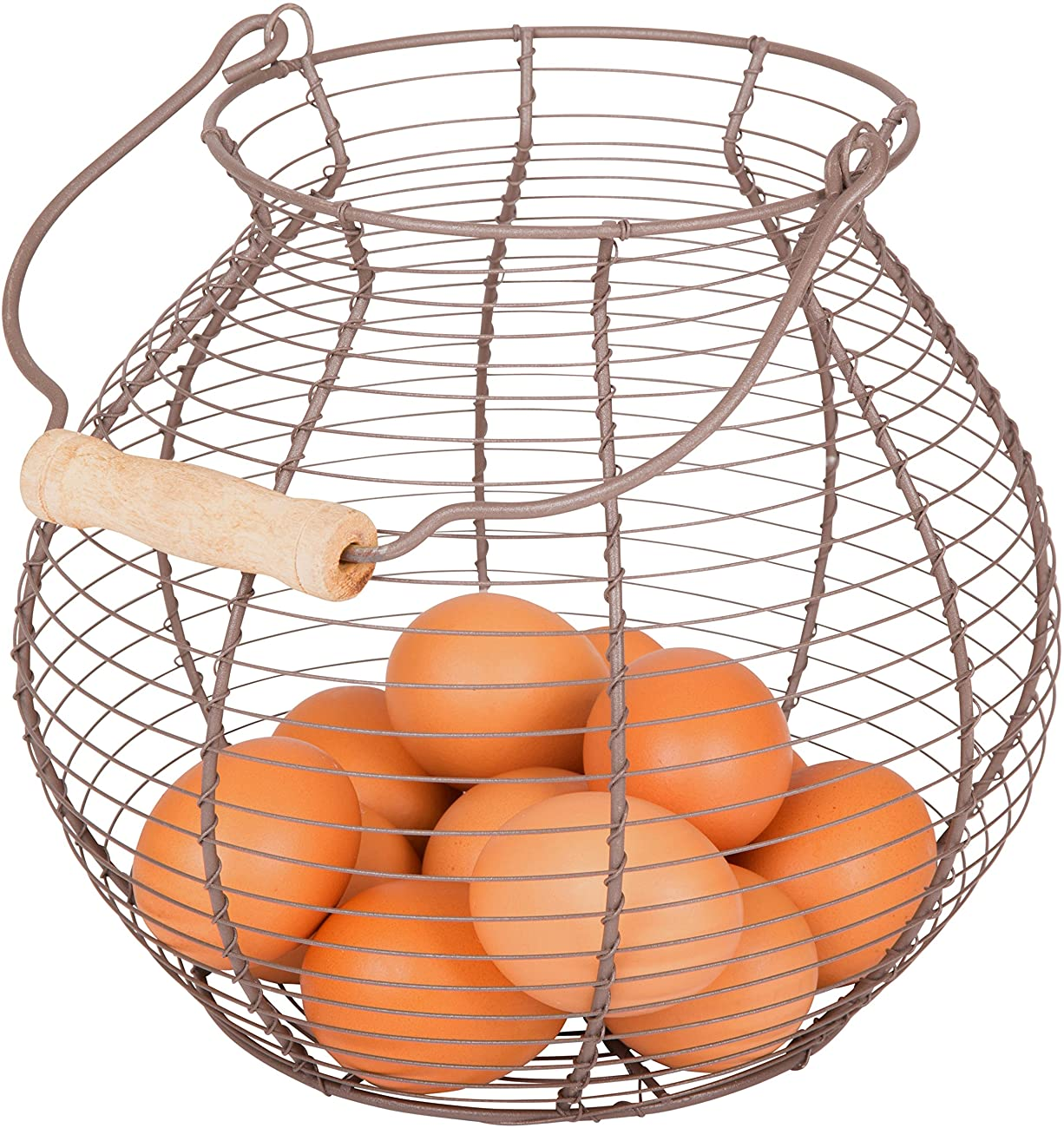 Wire Egg Basket - Vintage Style - By Trademark Innovations 1