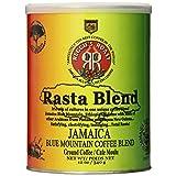 Reggie's Roast Jamaica Blue Mountain Rasta Blend Ground Coffee, 12 Ounce Can