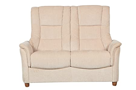 The Shangri-La Two Seater Fabric Chenille Sofa in Beige