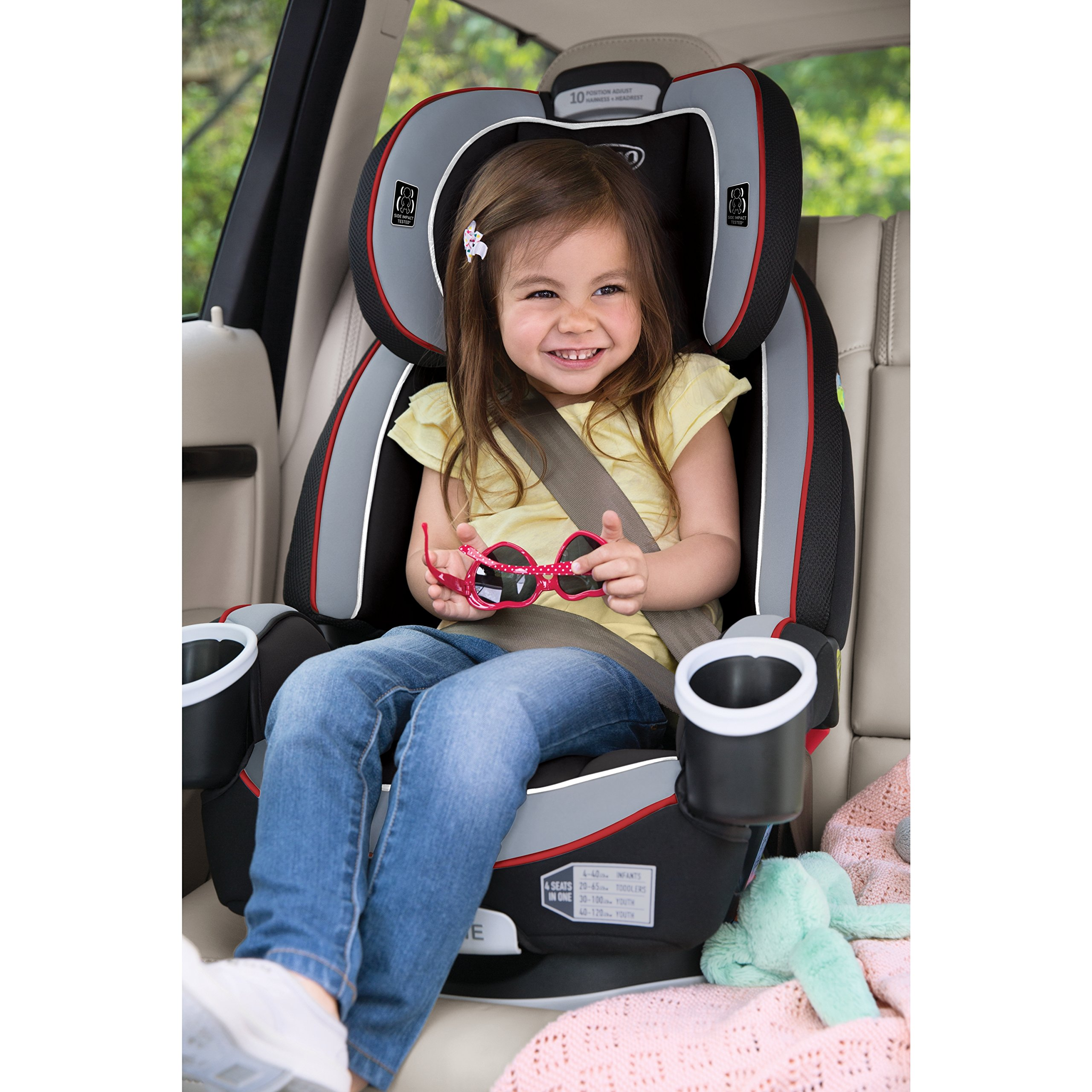 galleon graco 4ever all in one convertible car seat cougar. Black Bedroom Furniture Sets. Home Design Ideas