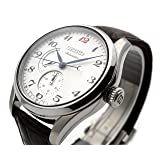 SEIKO Presage SPB041J1 Multifunction Leather Man Silver
