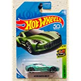 Hot Wheels 2018 50th Anniversary HW Exotics Aston Martin One-77 117/365, Pale Green