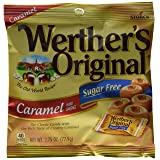 Werther's Original Hard Candy, Caramel Sugar Free, 2.75-Ounce Bags (Pack of 12) (Tamaño: 2.75 ounce (Pack of 12))
