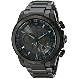 Citizen Men's Eco-Drive Chronograph Stainless Steel Watch with Date, CA4184-81E (Color: Black)