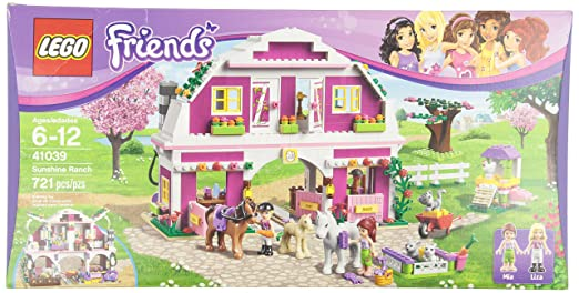 This is on my Wish List: LEGO Friends 41039 Sunshine Ranch: Toys & Games