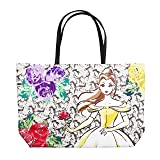 Disney Beauty and the Beast Dreaming of the Ball Tote Handbag (Color: Multi, Tamaño: One Size)