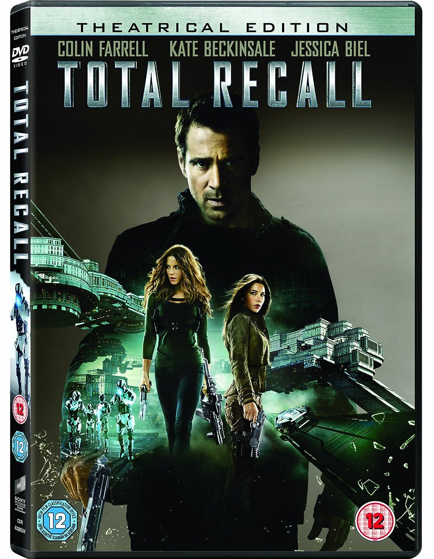 Total Recall 2012 Colin Farrell Total Recall Dvd 2012