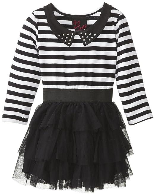 Girls-Rule-Little-Girls-Striped-Dress