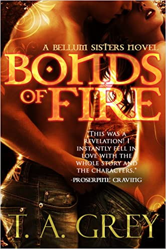 Bonds of Fire (paranormal erotic romance) (The Bellum Sisters 2)