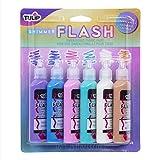 Tulip 40509 Dimensional Paint, Shimmer Flash (Color: Shimmer Flash)