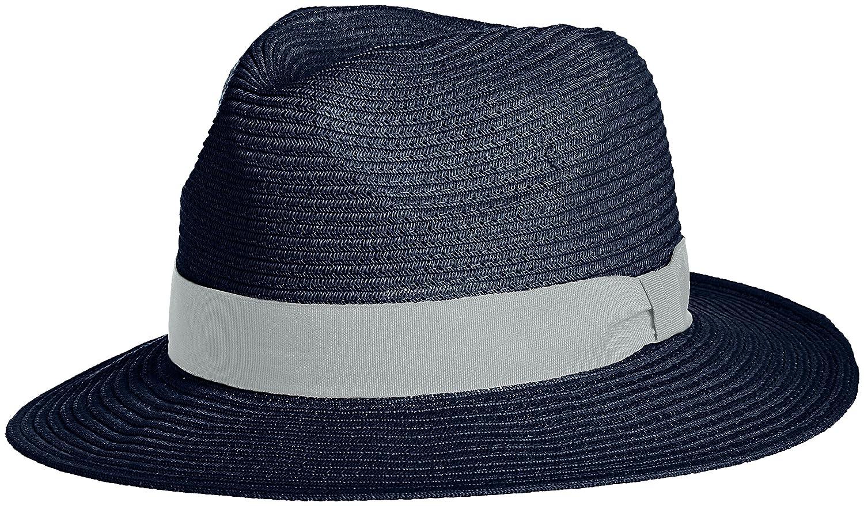 Amazon.co.jp: (グレース)grace 手洗い可能 中折れハット WASHABLE BRAID HAT WH091 035/NV F: 服&ファッション小物通販