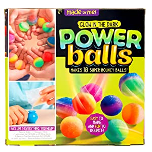 Made By Me Glow in the Dark Powerballs by Horizon Group USA