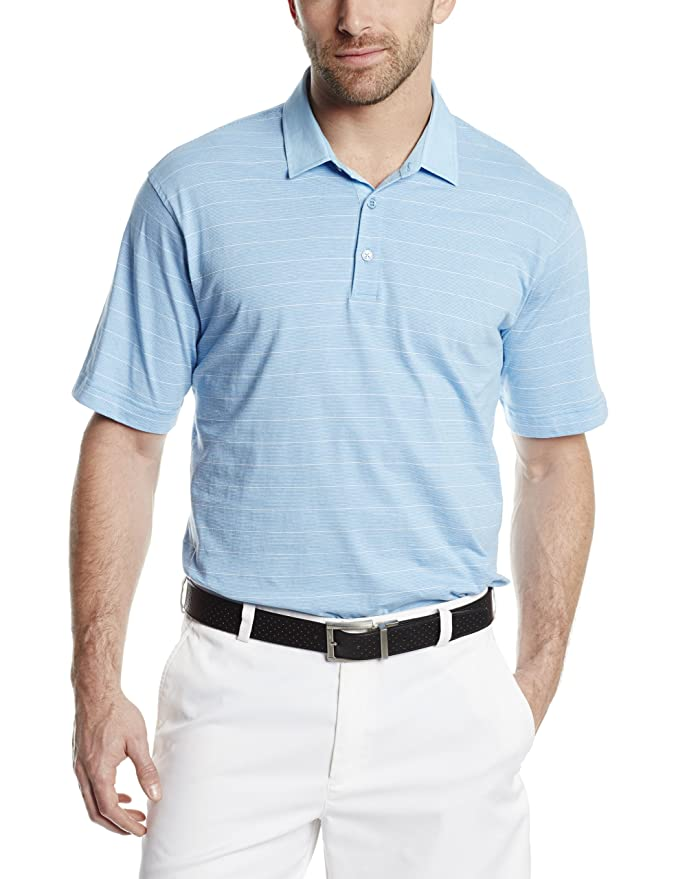 Amazon.com: Cutter & Buck Men's Big-Tall Vineyard Stripe Polo ...