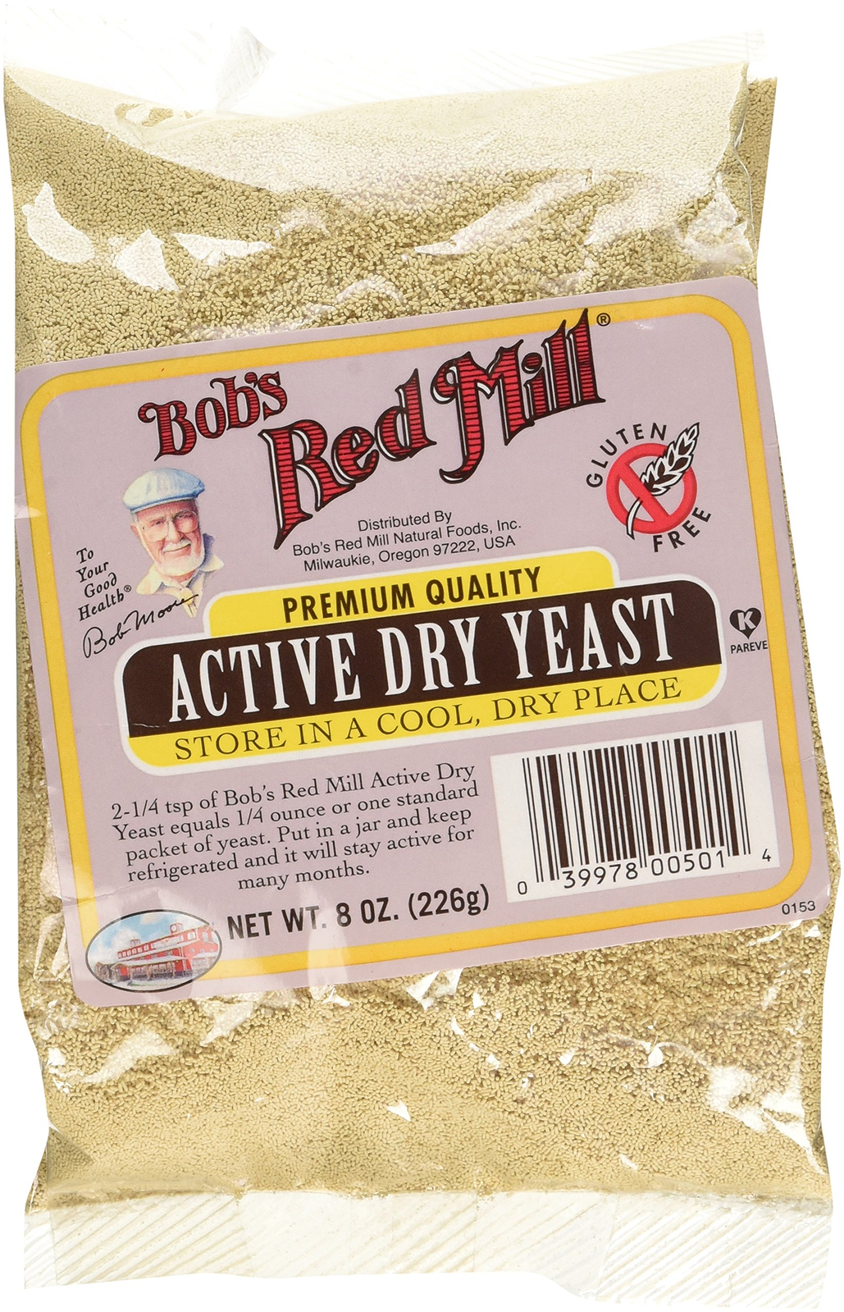 1 package of dry yeast equals