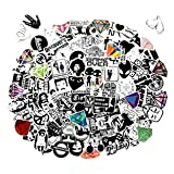 [ Clear Stickers ] 118pcs/Pack Laptop Stickers for Luggage Graffiti Patches Skateboard Wall Transparent Decals(Not Random) (Tamaño: F)