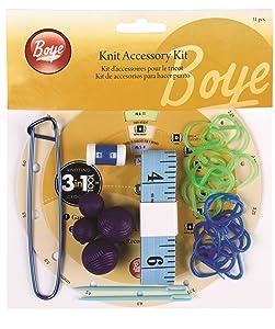Boye - Kit de accesorios para hacer punto   Comentarios de clientes y más Descripción