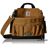 Carhartt Legacy Build Your Own Belt Custom Tool Belt Pouch, Electrician's Pouch (Color: Carhartt/Brown, Tamaño: One Size)