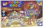 Toy Box Toy Box Mosaic Magic By Numbers Robos