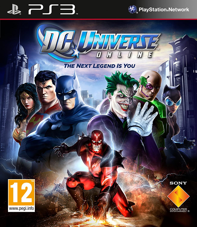 Marvel Universe Online Ps3 dc Universe Online Ps3