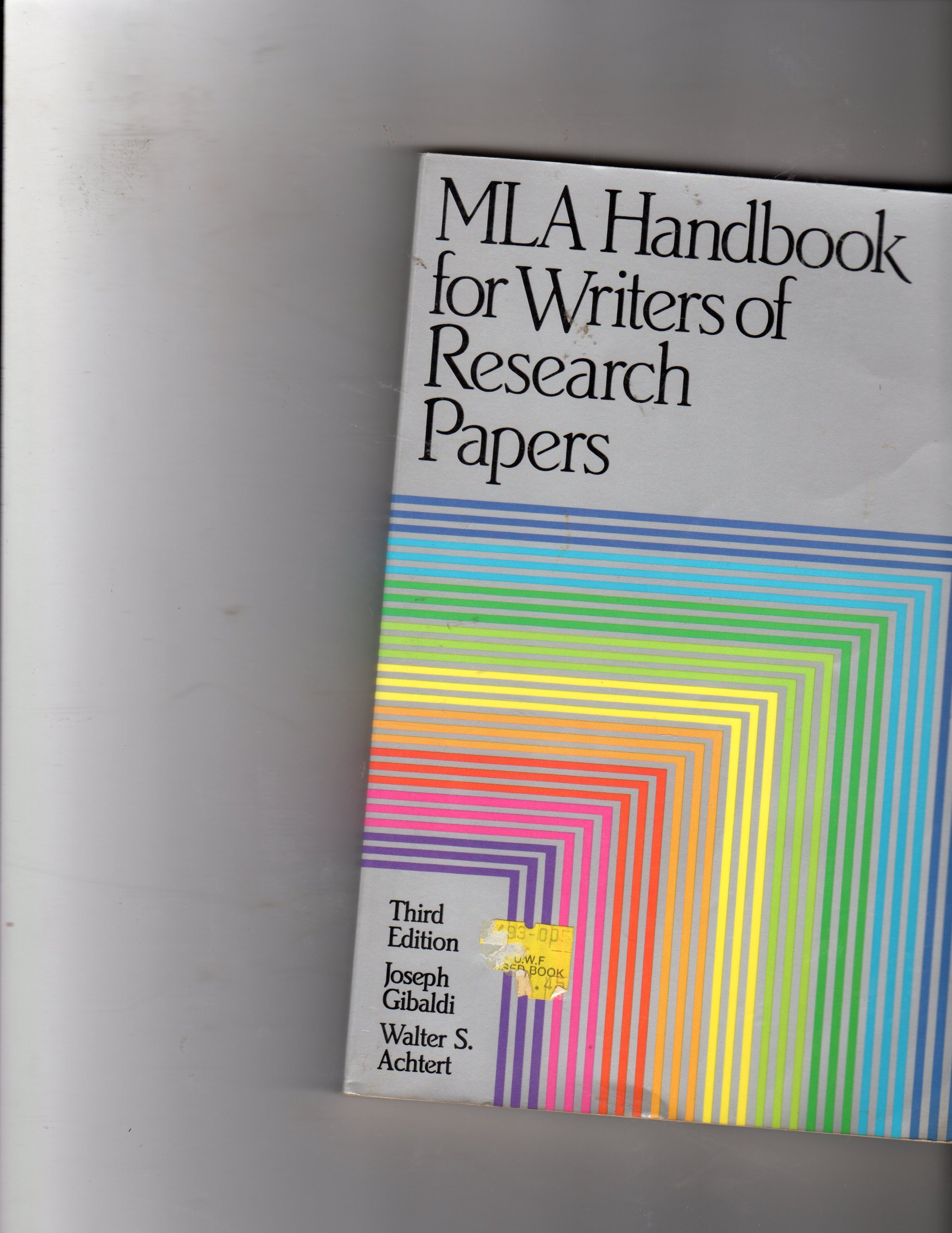 mla handbook for writer of research papers Loyola book stop 0.