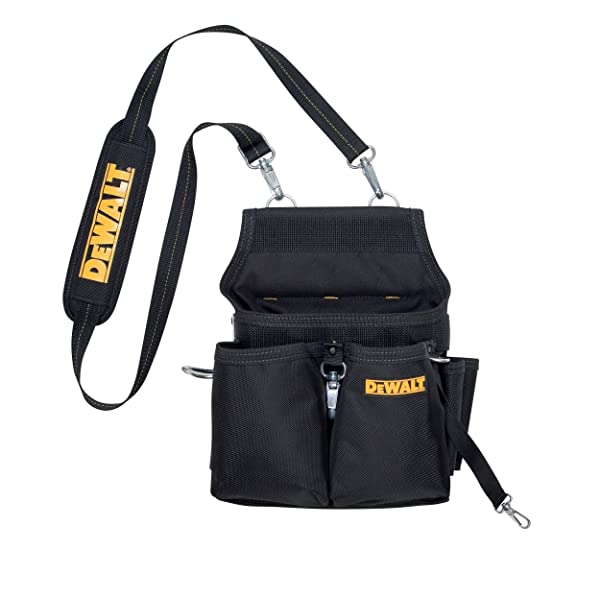 DEWALT DG5680 Professional Electrician's Tool Pouch, 14 Pocket (Color: Black, yellow)