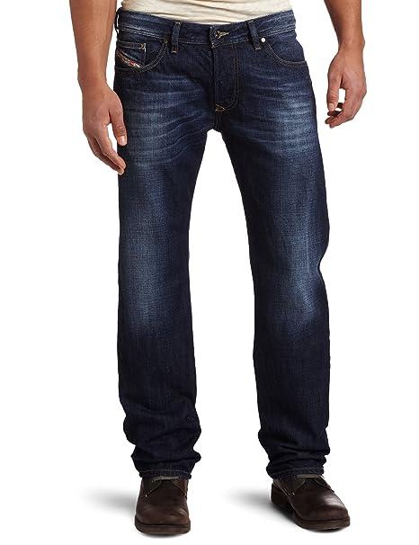 Diesel 迪赛男款直筒牛仔裤 Larkee 74W