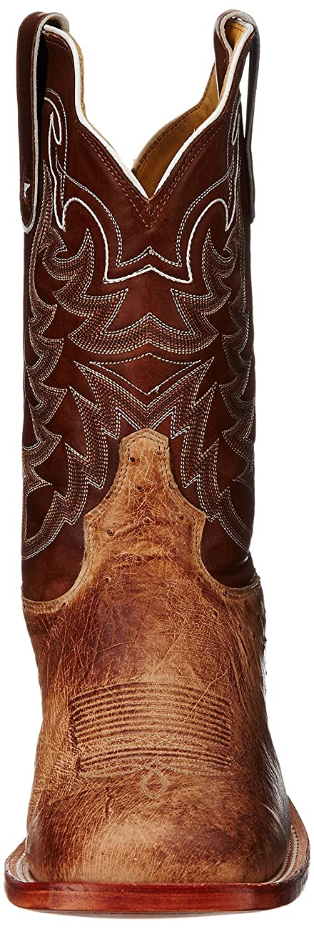 Tony Lama Men's Vintage Smooth Ostrich Western Boot 1
