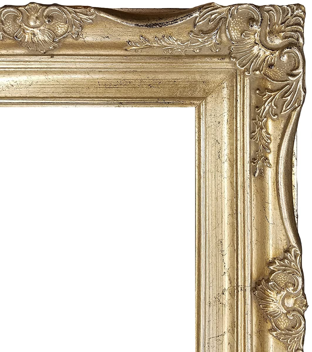 4 vintage ornate baroque french silver picture frame 11x14 4 vintage ornate baroque french silver picture frame 11x14 jeuxipadfo Image collections