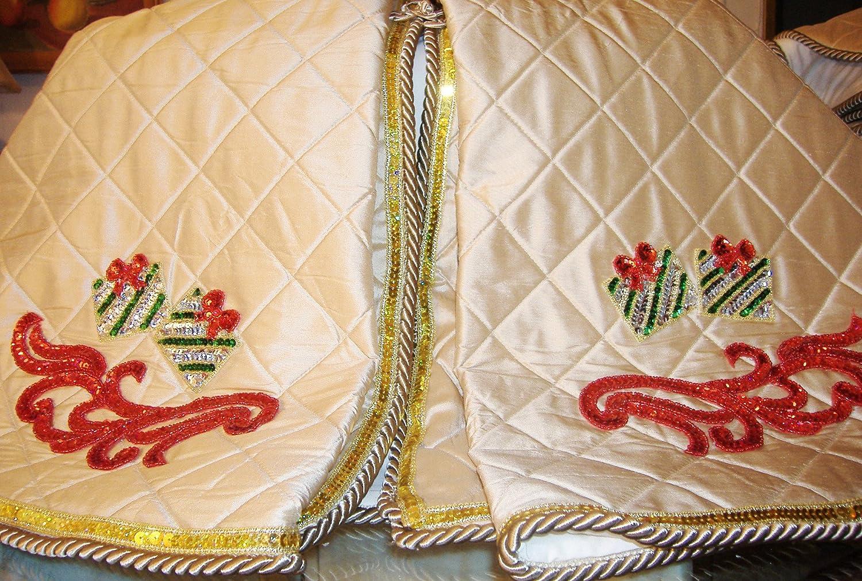 Silk Christmas Tree Skirt