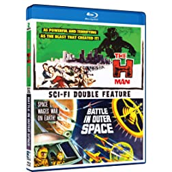 The H-Man / Battle in Outer Space (Double Feature) [Blu-ray]