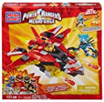 Mega Bloks Mega Bloks Inc Mega Bloks Power Rangers Megaforce PRMF Red Ranger vs. Vrak