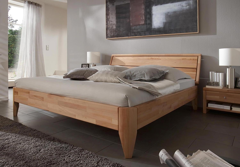 Stilbetten Bett Holzbetten Massivholzbett Denise Eiche (geölt) 180×200 cm kaufen