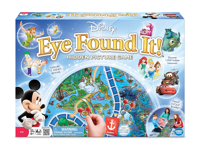 World of Disney Eye Found It Board Game