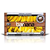 Organic Coconut Chewy Banana Bites - 3.5 Ounce (12 Count) - Delicious Barnana Potassium Rich Banana Snacks - Lunch Dinner Sports Hiking Natural Snack - Whole 30, Paleo, Vegan