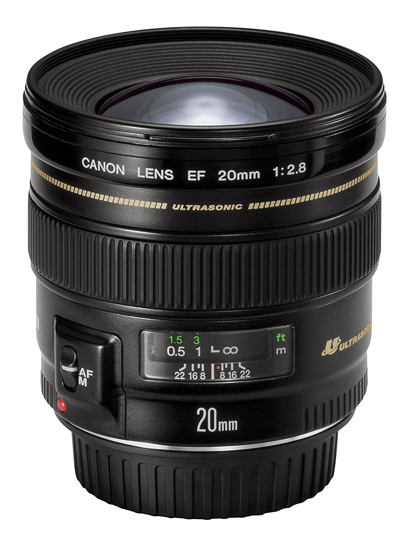 grandangolo Canon EF 20mm f/2.8 USM